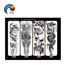 Os mais recentes braços de tatuagem adesivo tatuagem com alta qualidade
