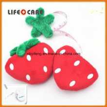 Promotion Strawberry Shape Cloth Funny Gift Measuring Tape