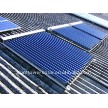 Split calentador solar de agua for home use
