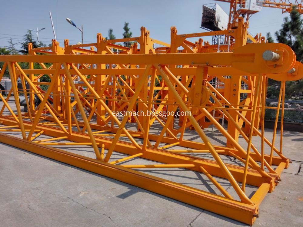 Qtz250 16 Ton Topkit Topless Tower Crane Tc7030 Hammer Head