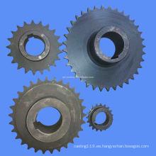 Cadena de cadena de mecanizado de precisión de acero personalizado
