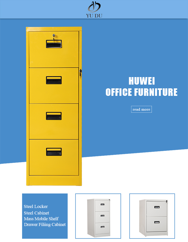 Filing Cabinet with Four Drawers