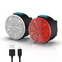 12 Brightness Modes Mini Bicycle Light Set