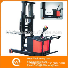 Battery Operated AC Motor Electric Stacker Reach Forklift