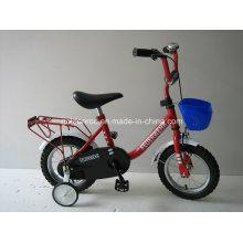 """Bicicleta de 12 """"con marco de acero para niños (1219)"""