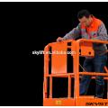 hydraulischer selbstfahrender scissor manueller Aufzug für eine Person betätigen heißen Verkauf
