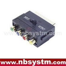 21pin Scart zu YPbPr + Videoadapter