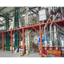 Завод по сепарации кукурузных зародышей и муки