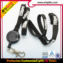 Plastic retractable yoyo holder name badge holder lanyard