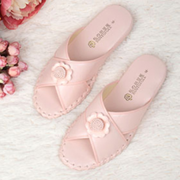Women Indoor Slippers Pansy Room Wear Light Soft Slippers