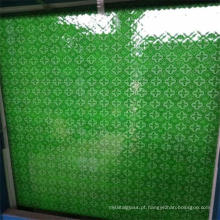 4mm Green Patterned / Figured Glass