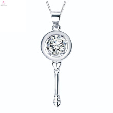 Custom 925 Silver Classic Looking Silver Pendant Necklace