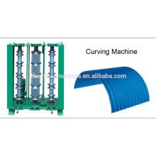 Hochwertige Farbe Stahl hydraulische Kurvenmaschine / Kurven-Maschinen
