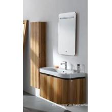Gabinete de la vanidad del cuarto de baño de la madera de roble Gabinete de cuarto de baño de la nueva del gabinete de cuarto de baño del diseño de la moda (JN-8810208)
