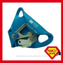 A696 Outdoor Sport Zertifiziert CE EN567 Seil Größe 8mm 13mm Bergsteigen Klettergerät Aluminium Chest Ascender