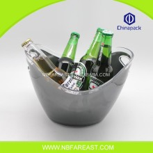 OEM cheap galvanized beer ice bucket custom