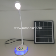 solar led desk lamp usb