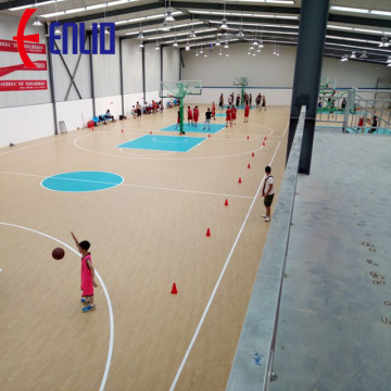 Indoor Sports Flooring / Basketballplatz CBA Sponsor