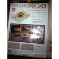 Non-sticky high temperature resistant teflon baking sheet oven liner LFGB FDA certified
