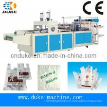 Machine de fabrication automatique de sacs à bandoulière automatique à coupe de bonne qualité (DFHQ-450X2)