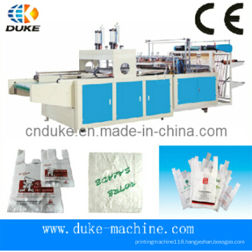 Good Quality Cutting Automatic T-Shirt Bag Making Machine (DFHQ-450X2)