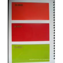 UV Boards MDF De Foshan Fábrica Zh (madera sólida y colores metálicos)