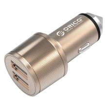 ORICO UCI-2U 15.5W 2 port USB Car Charger, Safety Hammer também