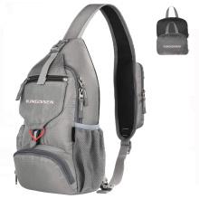 2021 New Wholesale Sports Crossbody Bag Custom Logo Foldable Women Chest Sling Bag