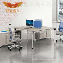 Contemporary Simple Computer Desk Workstation with Metal Legs (H50-0201)