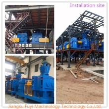Dry Granulating complete equipment for formula fertilizers for potassium sulfate