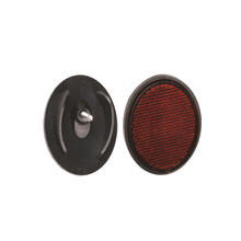 Plastic Bicycle Rear Reflector with 1PCS Screw (HRF-014)