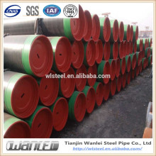 black painting api5l b 16 inch seamless steel pipe price
