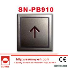 Bouton carré pour ascenseur (CE, ISO9001)