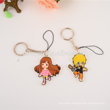 wholesale PVC phone charm/ anime mobile phone pendant