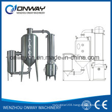 Wz High Efficient Vacuum Raising Film Single Stage Evaporator Hydro Distillation