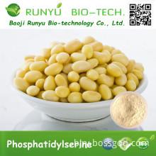 High Quality Soybean Extract Phosphatidylserine with best price