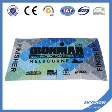 Serviette de sport imprimée en coton (SST0561)