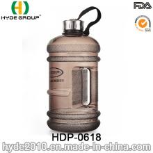 Jarra de agua plástica PETG libre de 1.89L BPA, botella de agua plástica grande 2.2L con el logotipo (HDP-0618)