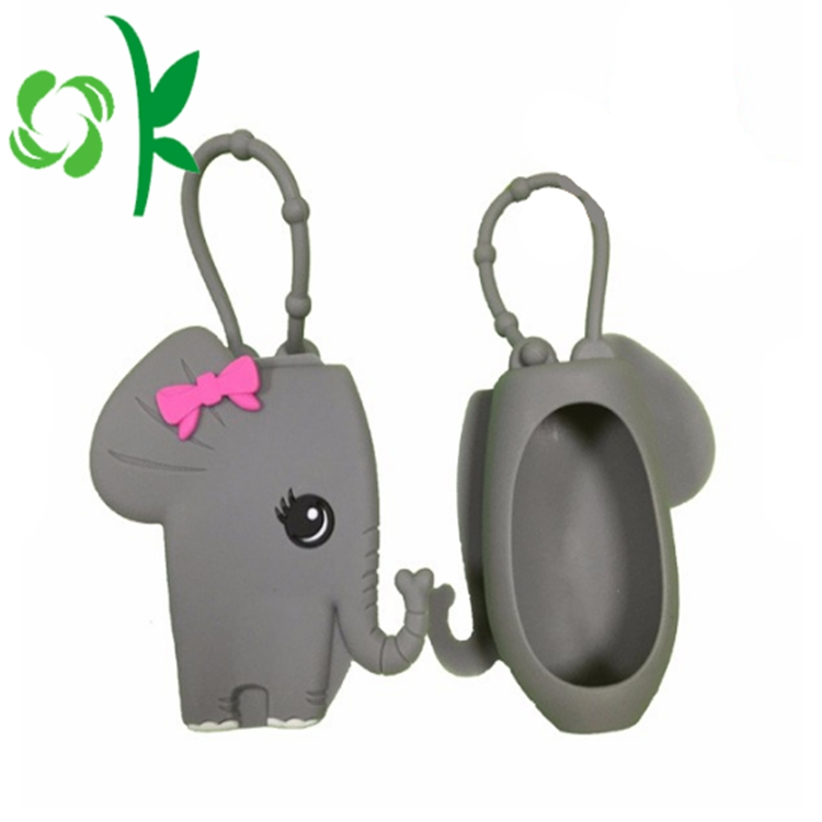 Antibacterial Bottle Silicone Sanitizer Holder