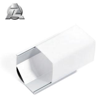 6063 t5 1m length silver led strip aluminium casing profile