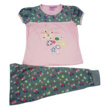 Garota de bebê de verão crianças terno em roupas de crianças