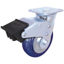 Swivel Enduranced Nylon with Dual Brake (Blue)