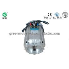 Motor do veículo elétrico, AC de baixa tensão, motor da bateria para carro