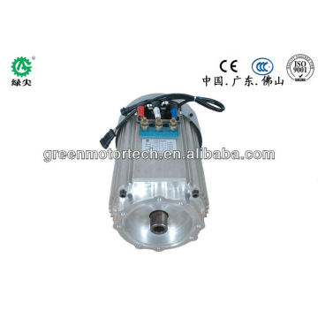 Electric vehicle motor, AC low voltage, battery motor for car