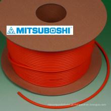 Mitsuboshi Cinto de poliuretano e cinto de correia. Excelente adesão e força. Feito no Japão (cabo de poliuretano)
