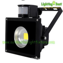 Mean Well driver black cover flood light 80w