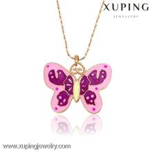 31940-Xuping Очаровательная Подруга Подарки Бабочка Форма Ожерелье