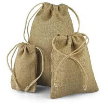 Sac naturel en toilelettes