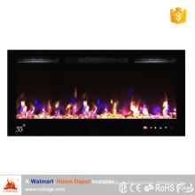 La plus récente insert de cheminée électrique de flamme de 55 po