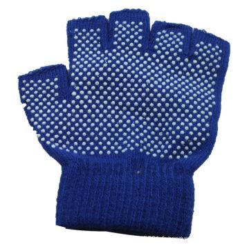 NMSAFETY demi doigt gants modèle de tricot